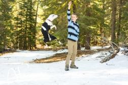 Tweed & my brother